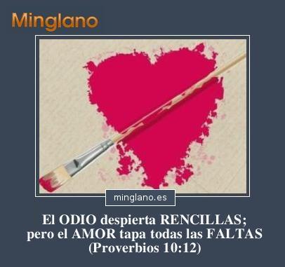 PROVERBIOS de la BIBLIA sobre el ODIO