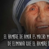 FRASES de la MADRE TERESA de CALCUTA sobre el AMOR