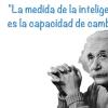 FRASES de ALBERT EINSTEIN sobre la INTELIGENCIA