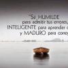 FRASES de SER HUMILDE en la VIDA
